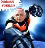 Mazinger elegido Papa