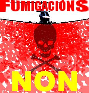 Logotipo fumigacións NON