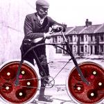 La bicicleta antibiótica (Casdeiro, a partir de imágenes de Wikimedia Commons)