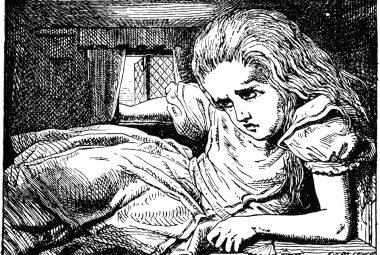 Ilustración de John Tenniel en 'Alice in Wonderland'