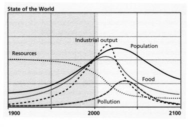 Limits to Growth - Escenario estándar